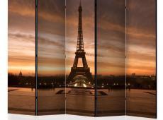 Paraván - Evening Colours of Paris II [Room Dividers]